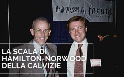 La scala di Norwood-Hamilton della calvizie