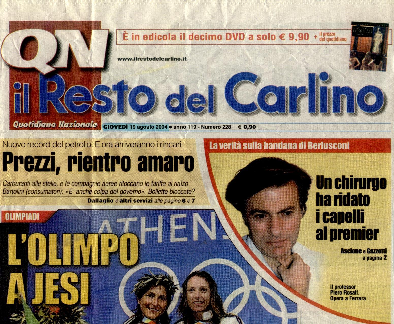 Berlusconi: un segreto sotto la bandana - Copertina