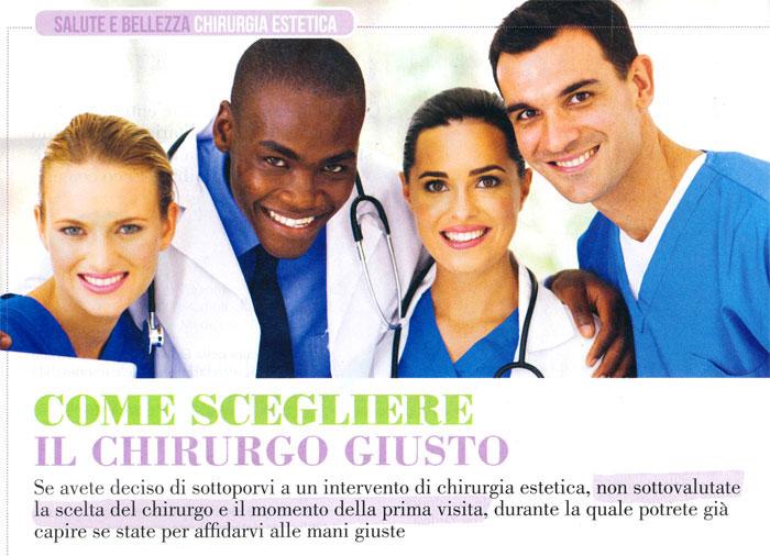 Come scegliere il chirurgo giusto - Dimensione Benessere copertina