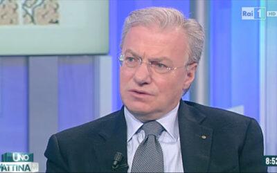 Intervista sulle cellule staminali del prof. Piero Rosati a Uno Mattina