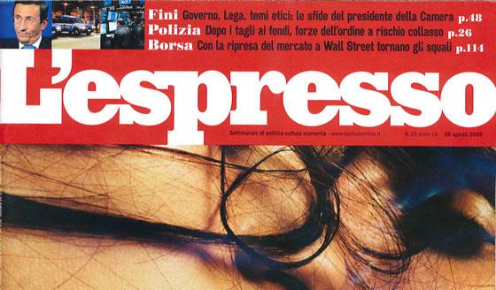 L'Espresso copertina articolo mago del trapianto