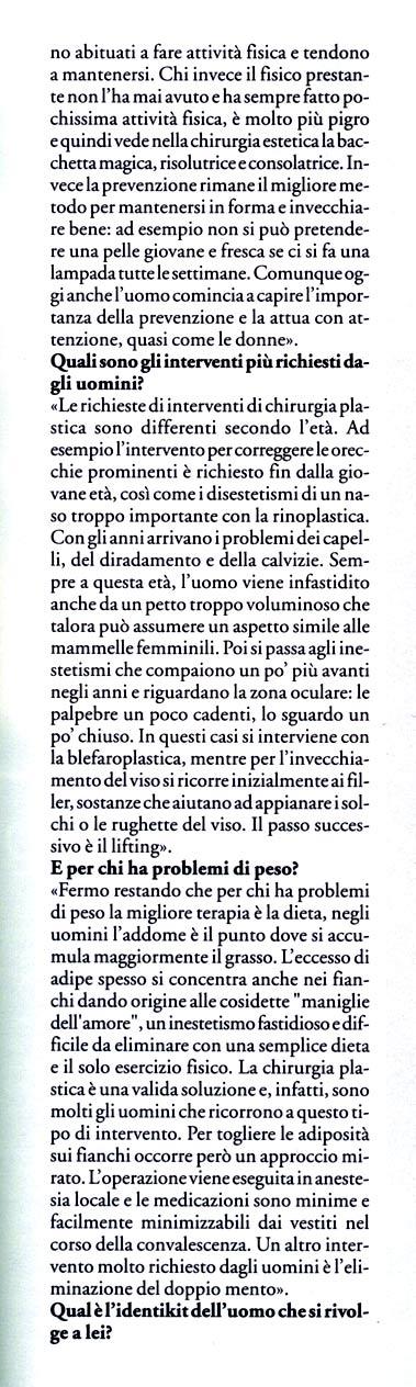La vanità è anche uomo - articolo di Sanissimi su Piero Rosati 4