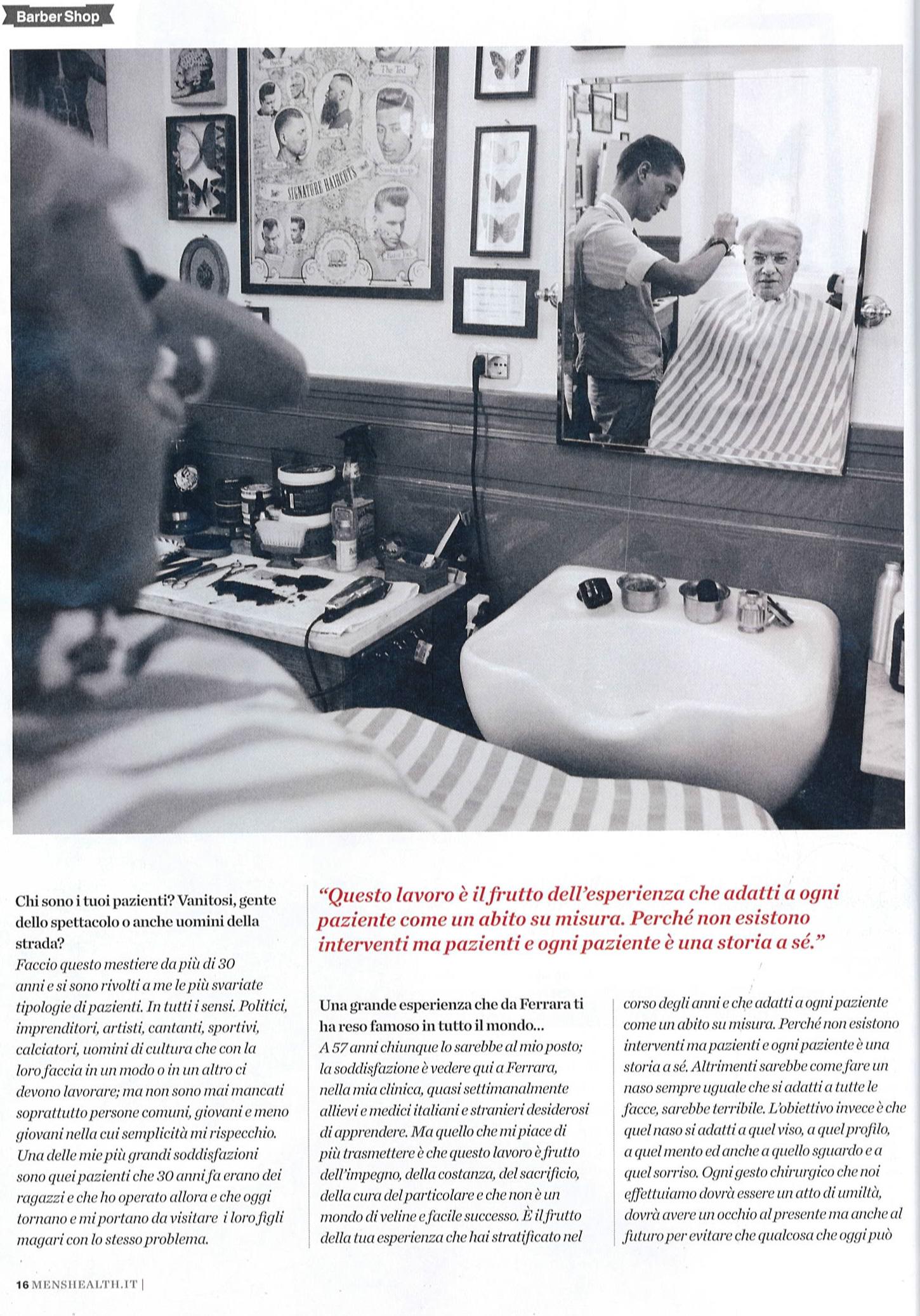 Piero Rosati: il mago dei capelli, l'uomo dei sogni - Men's Health articolo 3