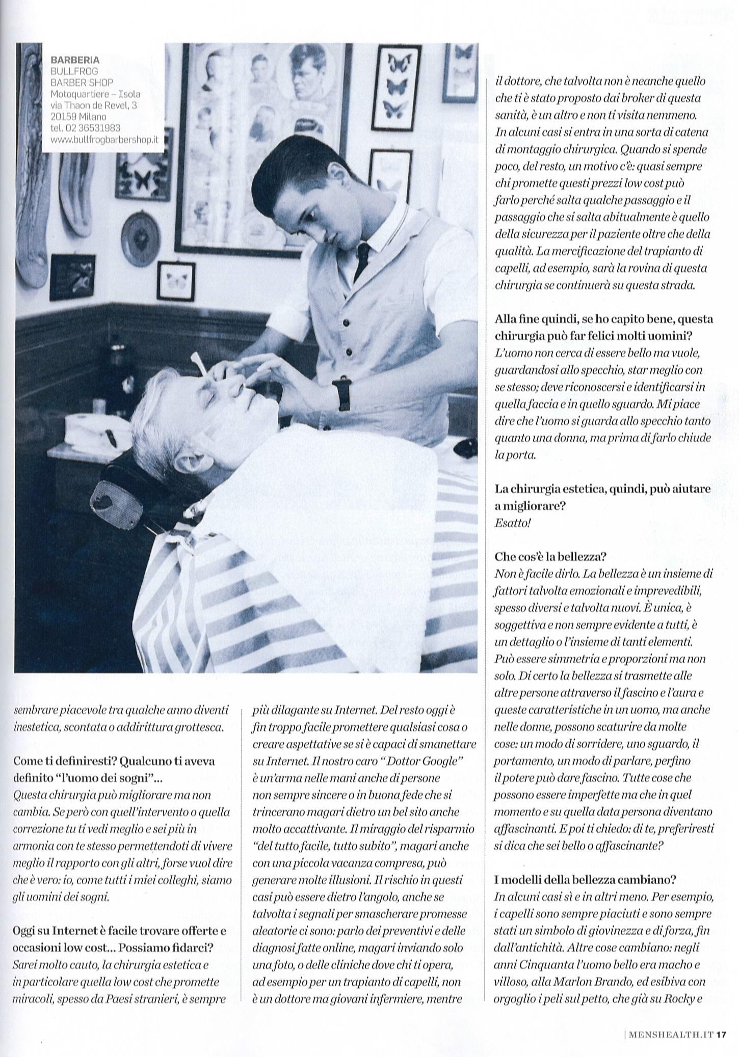 Piero Rosati: il mago dei capelli, l'uomo dei sogni - Men's Health articolo 4
