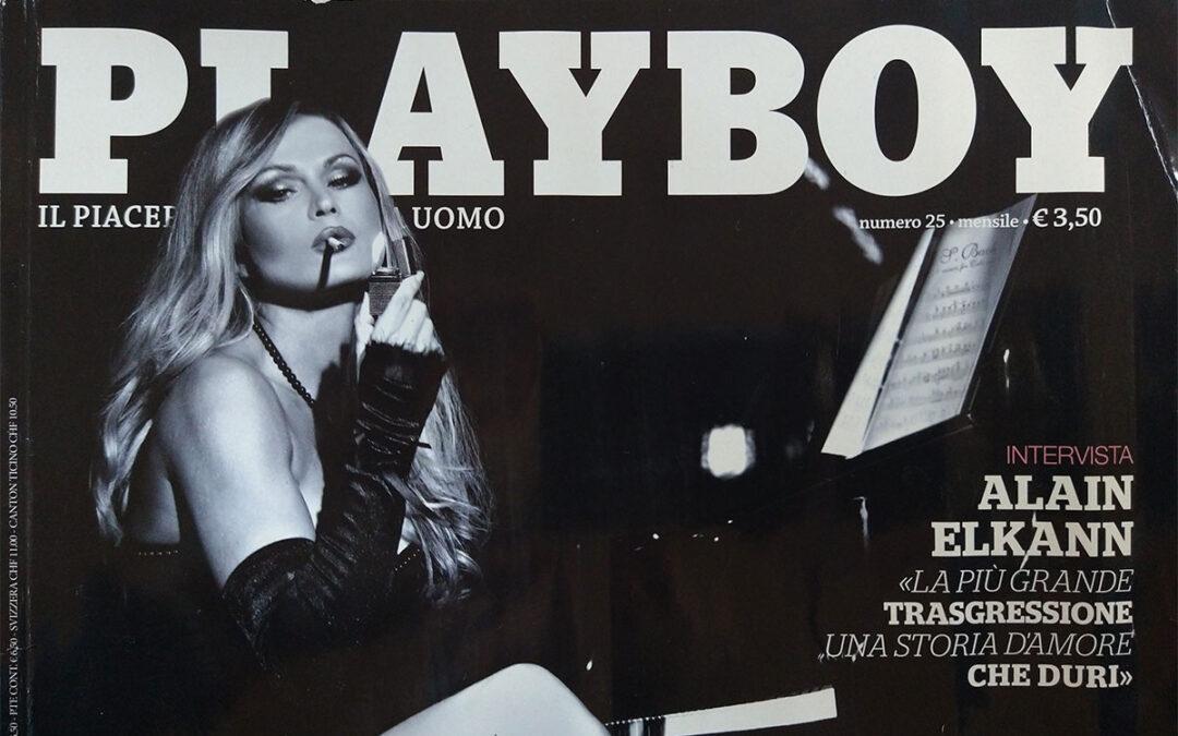 """Piero Rosati intervista su Playboy - """"L'uomo dei sogni"""" Copertina"""