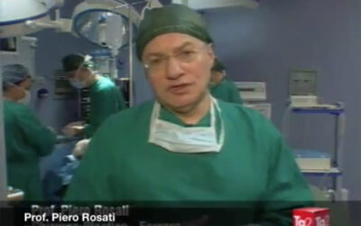 Intervista sul trapianto di capelli al prof. Rosati a Medicina 33, su Rai 2