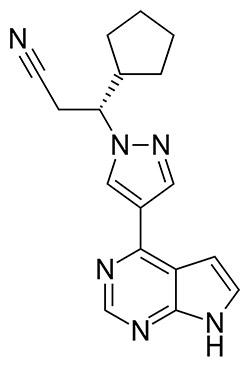 Ruxolitinib farmaco alopecia