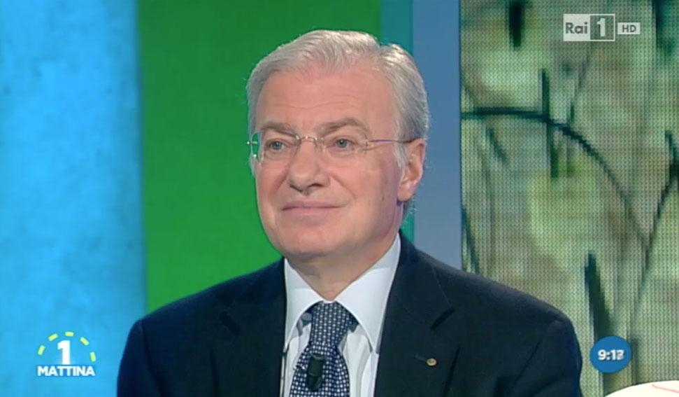 Piero Rosati intervista su Rai 1 ad 1 Mattina sul trapianto di capelli con tecnica CFU